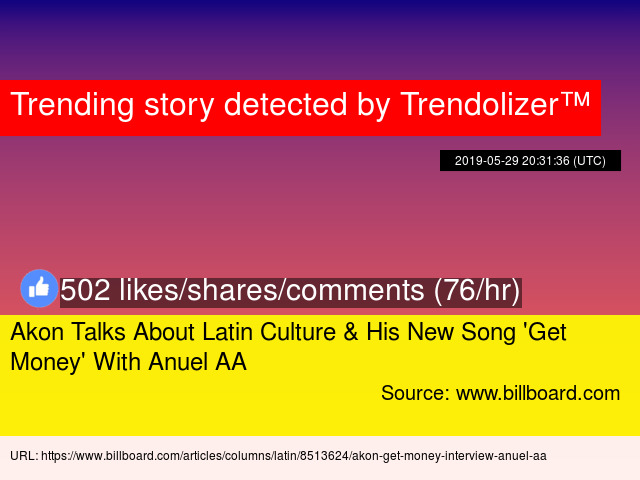 Akon Talks About Latin Culture &